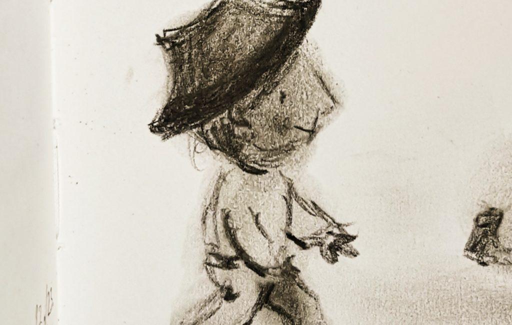 Maxerl mit Hut
